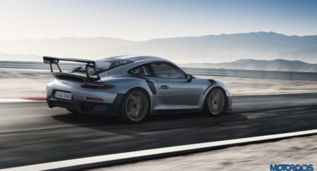 Porsche 911 GT2 RS action shot