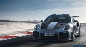 Porsche 911 GT2 RS front profile