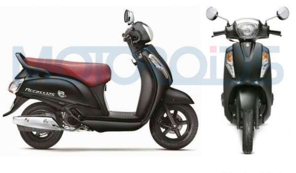 Suzuki Access 125 Special Edition new colours Matte Black