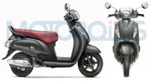 Suzuki Access 125 Special Edition new colours Matte Grey