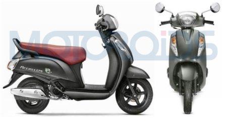 Suzuki Access 125 Special Edition new colours Matte Grey