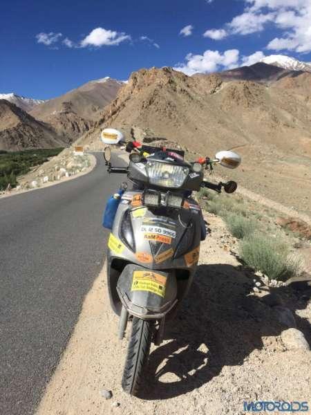 TVS Jupiter – Ladakh Ride – Lakshay Anand (11)