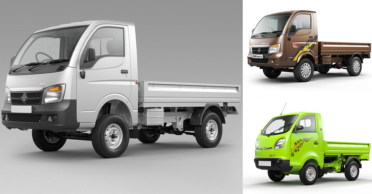 New tata motors xl small commercial cargo vehicle range for Tata motors commercial vehicles