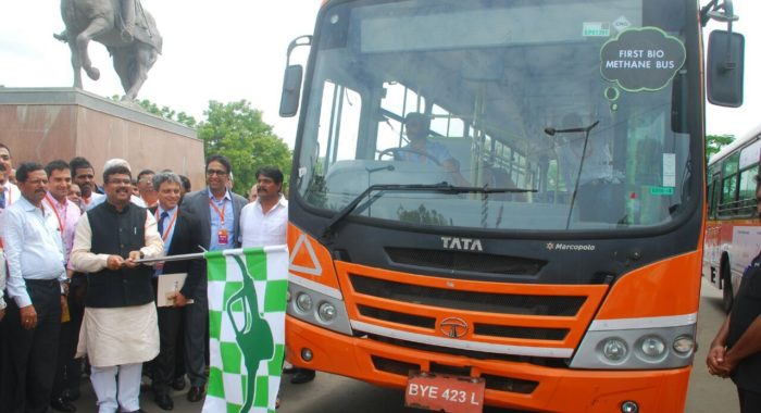 Tata Motors Develops Country's First Bio-Methane Bus
