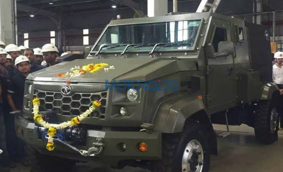 Tata Motors Working On A Hummer Style All Terrain Vehicle