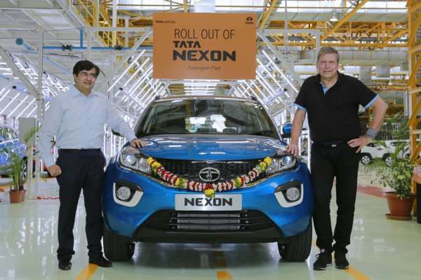 Tata Nexon Rolls off production line