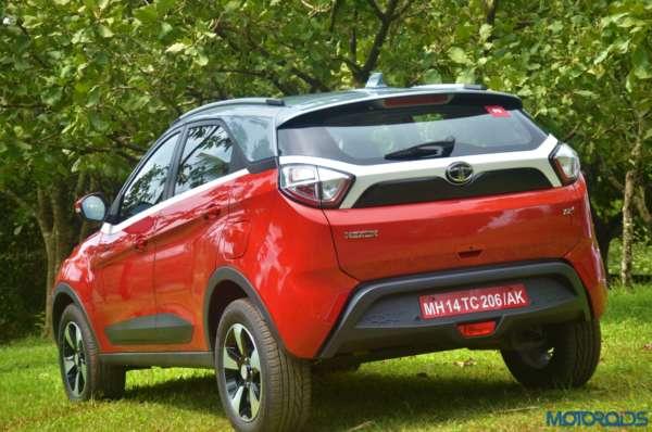 Tata-Nexon-rear-threequarters-right-600x398