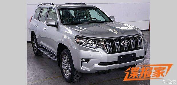 2018 Toyota Land Cruiser Prado Facelift Spotted For The ...