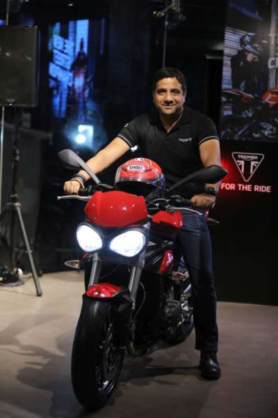 Vimal Sumbly Inaugurates New Triumph dealership in Bhubaneswar