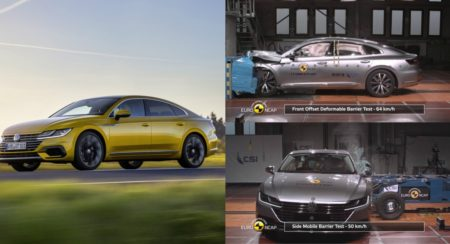 Volkswagen Arteron Euro NCAP Crash Test - Feature Image