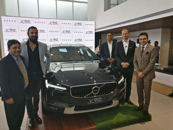 Volvo V90 Cross Country India Launch with top management