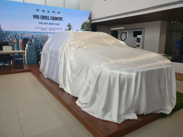 Volvo V90 Cross Country India launch