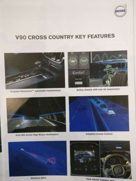 Volvo V90 Cross Country India launch key features