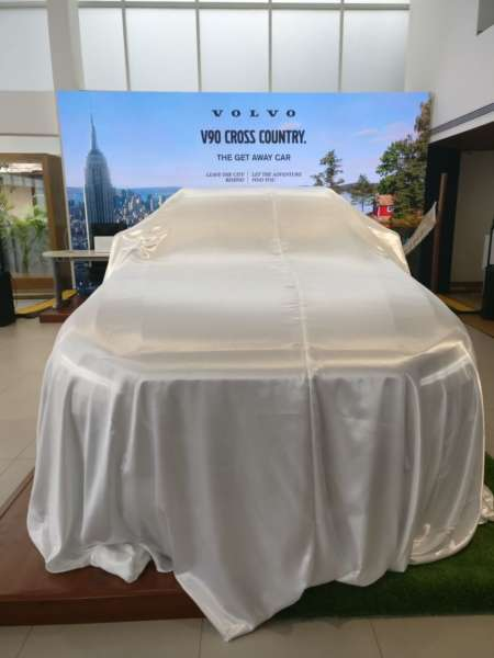 Volvo V90 Cross Country India launch under wraps
