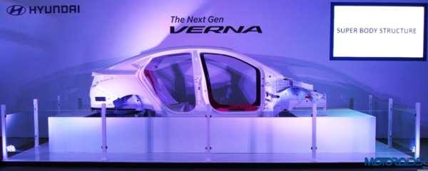 2017 Hyundai Verna facelift chassis