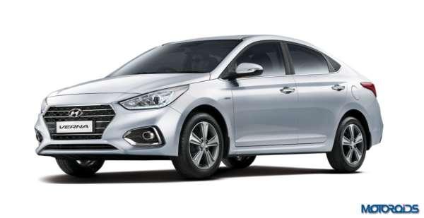 2017 Hyundai Verna facelift front