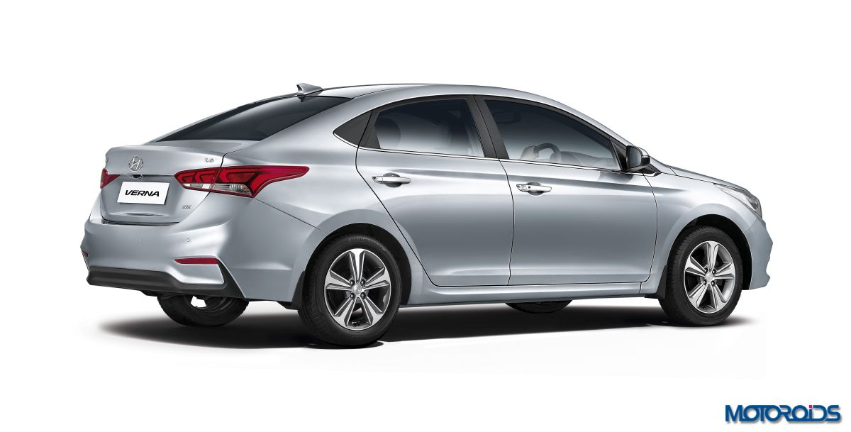 2017 Hyundai Verna Facelift Unveiled India Launch On