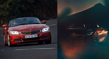 2018 BMW Z4 - Teaser Image - Feature