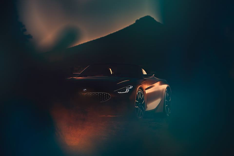 BMW Z4 Concept reveals design direction for brand's next roadster
