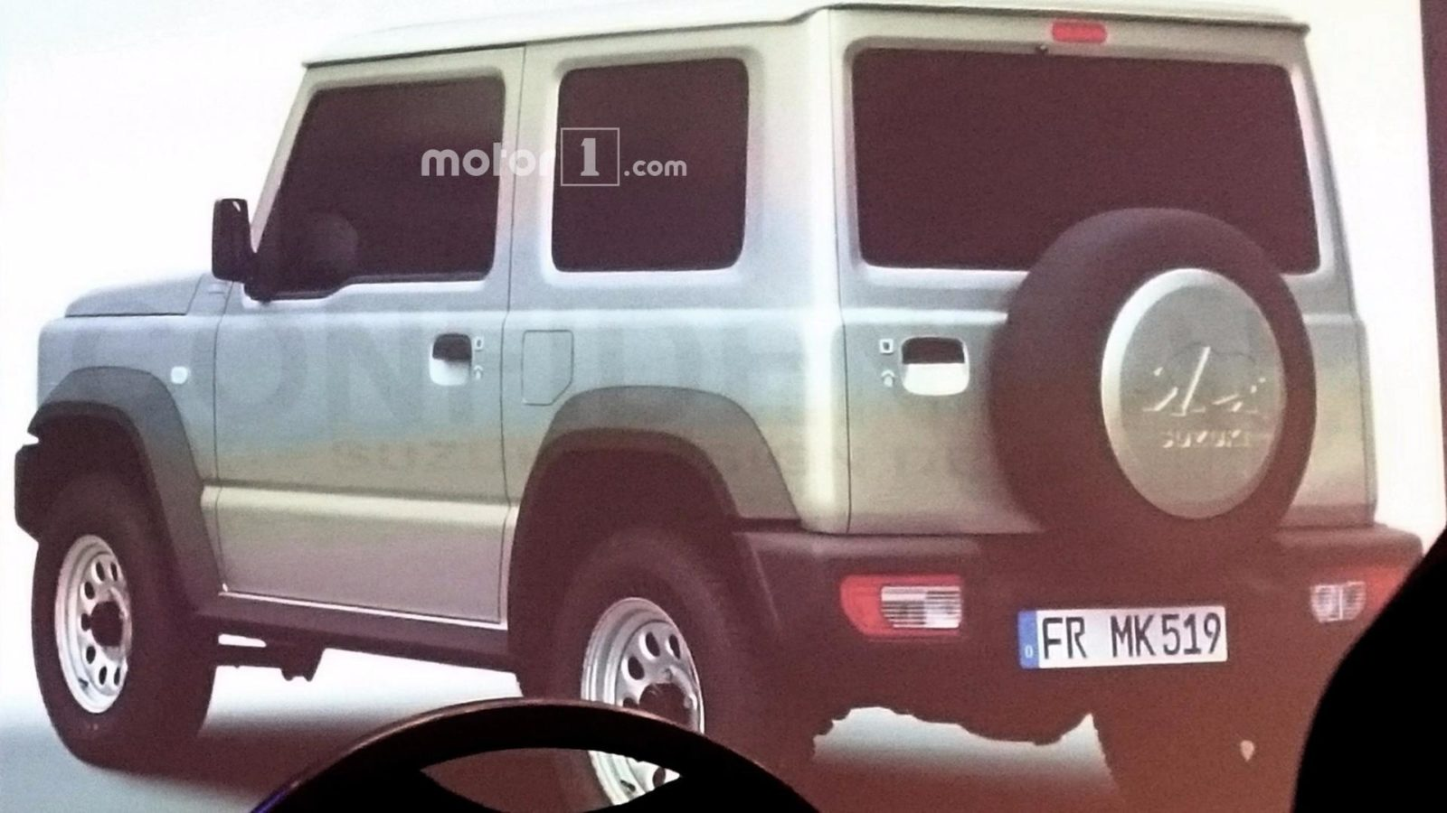 The Network got pictures of the new Suzuki Jimny