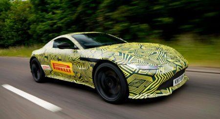 2019 Aston Martin Vantage Teased (1)