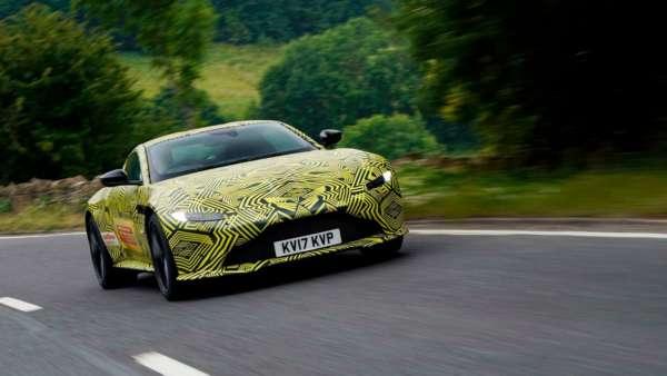 2019 Aston Martin Vantage Teased (2)