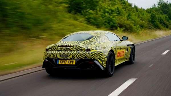 2019 Aston Martin Vantage Teased (4)