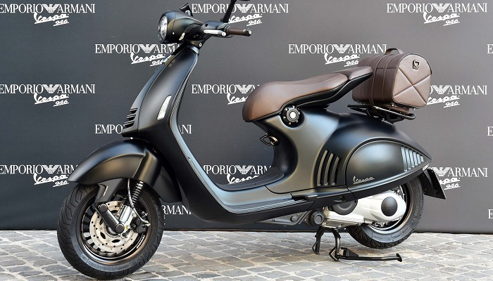best sale huge discount arrives Piaggio-Armani Contract terminated along with production of ...