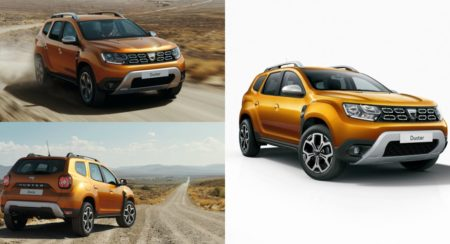 First Images Of New Renault Duster Revealed; To Be Unveiled At The 2017 Frankfurt Show