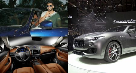 Arjun Kapoor - Maserati Levante - Feature Image