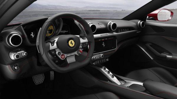 Ferrari Portifino cockpit