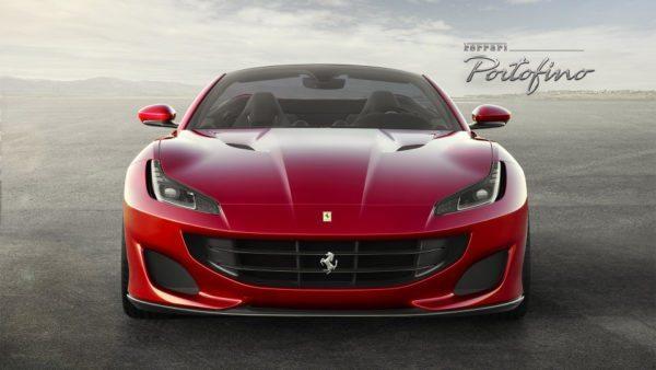 Ferrari Portifino front