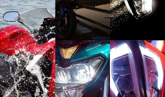 Five Motorcycles for all Moods, Seasons and Pockets