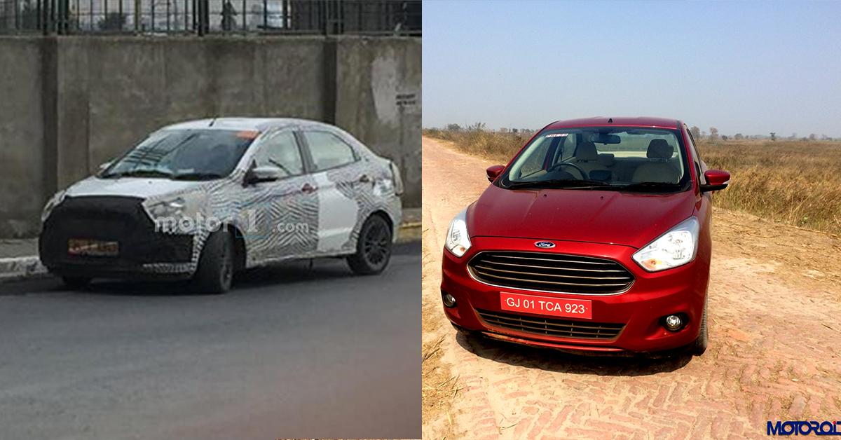 Ford Figo Aspire Facelift Spied In Turkey Motoroids