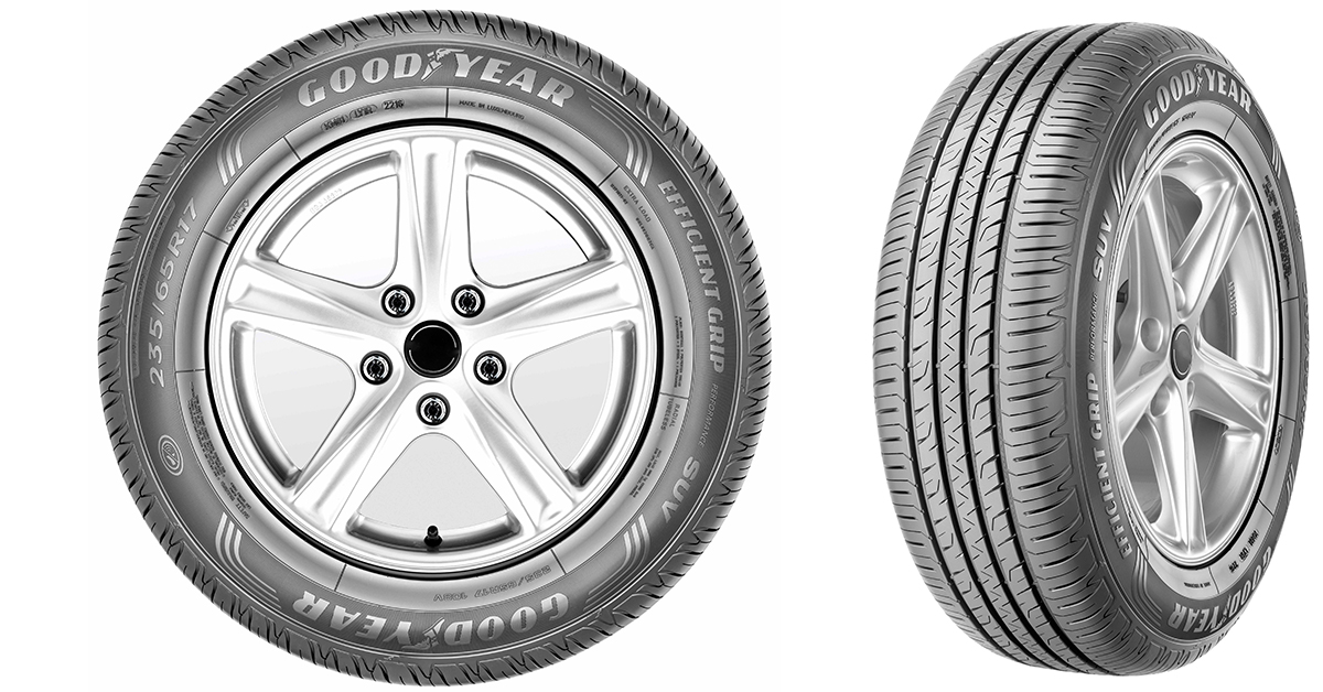 goodyear efficientgrip performance suv tire launched. Black Bedroom Furniture Sets. Home Design Ideas