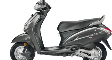 Honda Activa 4G Matte Grey Colour Launched In India