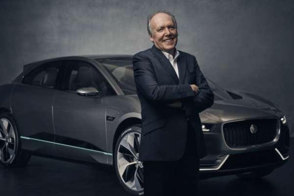 Ian Callum with the Jaguar I-Pace Concept