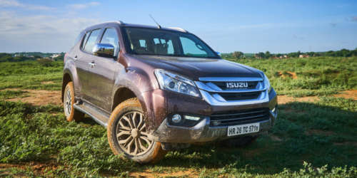 Isuzu MU-X Off-roading (7)