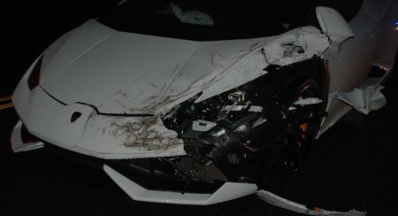 Lamborghini Huracan Crash US (2)