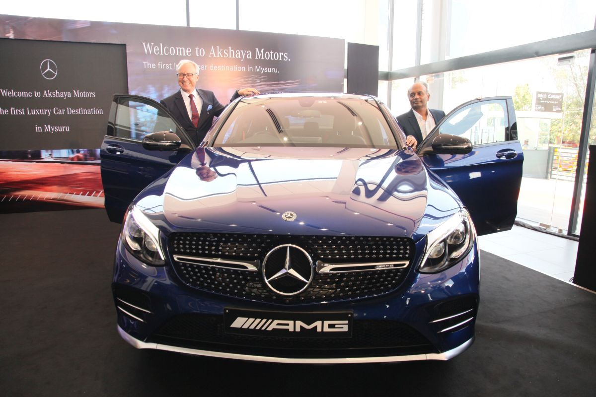 Mercedes benz india inaugurates new dealership in mysore for Mercedes benz dealers in md