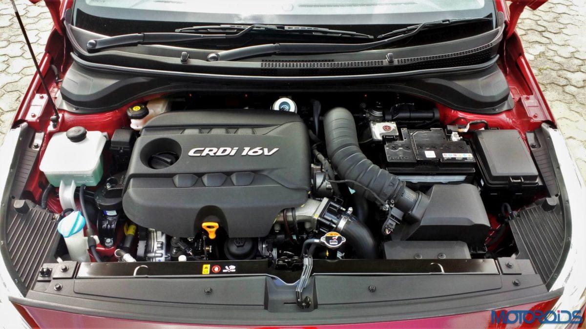 New 2017 Next gen Hyundai Verna 1.6 diesel engine bay (21)