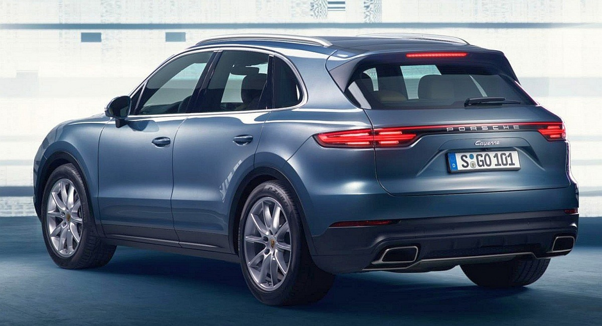 New-2018-third-generation-Porsche-Cayenne-rear