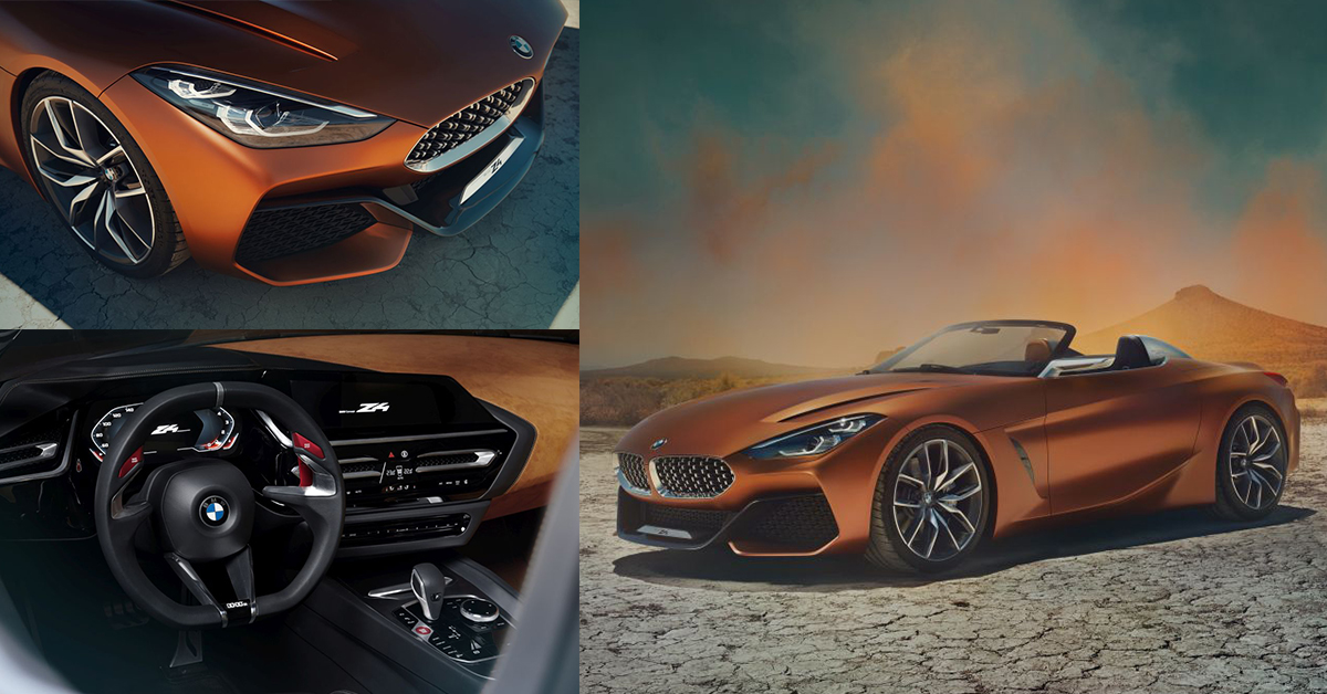 All New Bmw Concept Z4 Revealed All You Need To Know