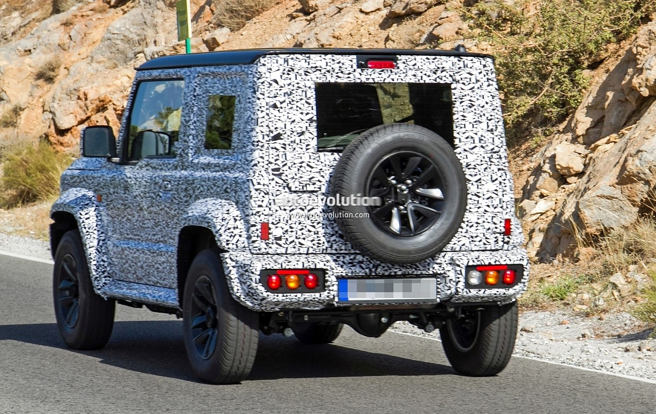 New Suzuki Jimny Spied Looks Like A Mini G Wagen May Replace The