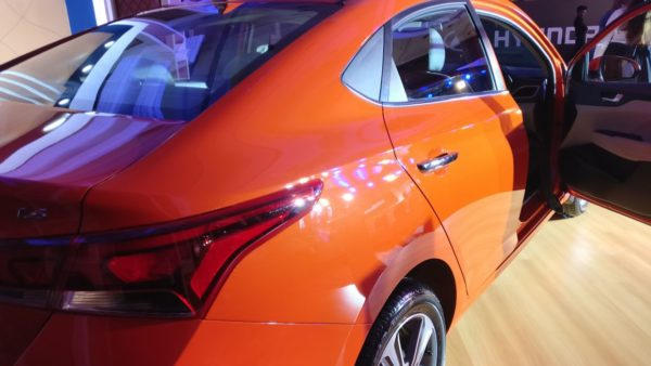 Orange Rear 3 Quarter