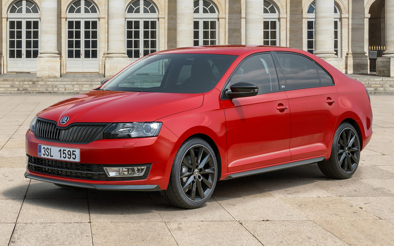 skoda rapid monte carlo edition set to arrive in india by september motoroids. Black Bedroom Furniture Sets. Home Design Ideas