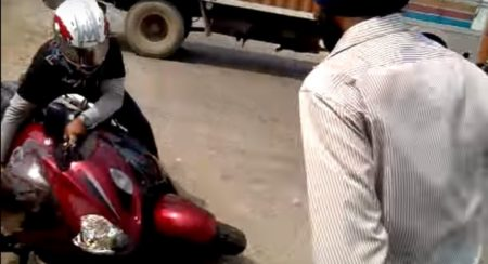 VIDEO: There's a lot to learn from this Suzuki Hayabusa crash