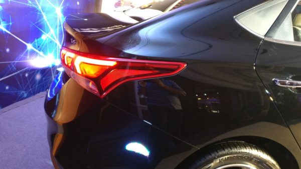 Tail Light Shape