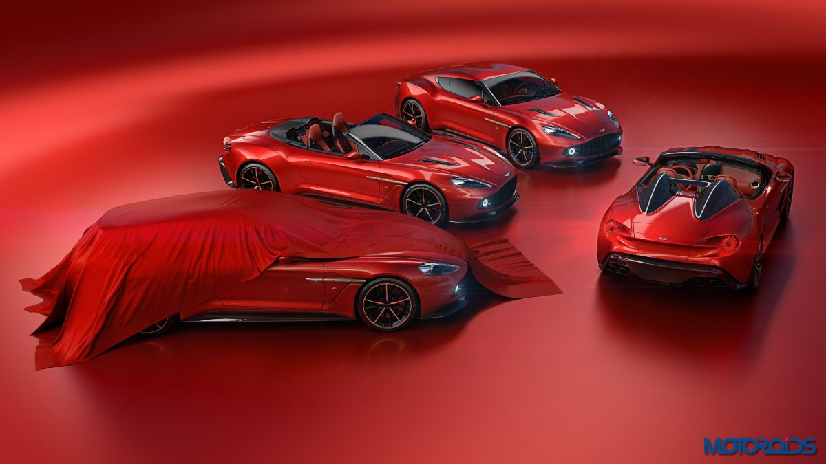 Aston Martin reveals Vanquish Zagato Speedster, confirms Shooting Brake