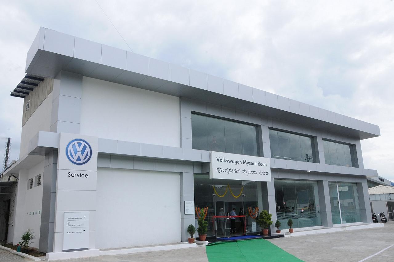 Volkswagen Expands Its Network Inaugurates Volkswagen